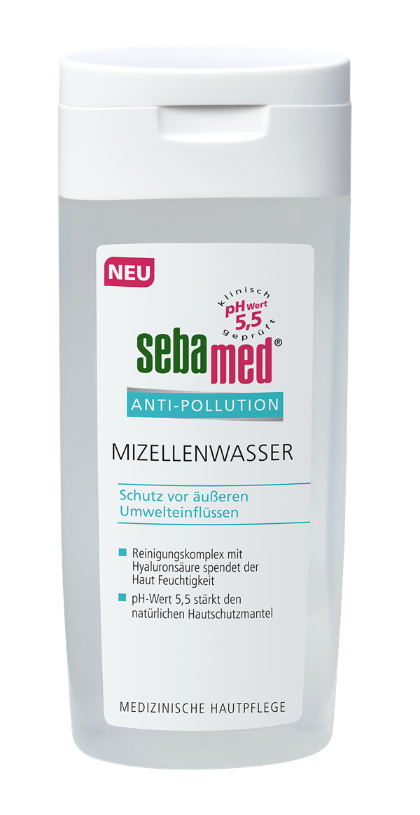 sebamed Anti-Pollution Mizellenwasser (200 ml): UVP 5,49 Euro