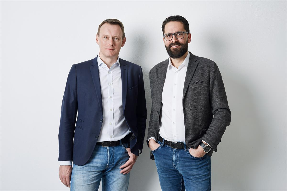 Thomas Kerschbaum und Stefan Ornig von movea marketing (vlnr.)